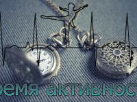 Определяем время активности